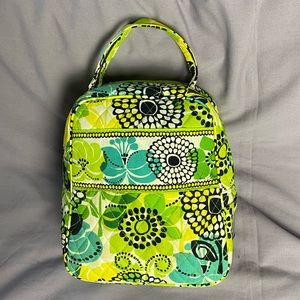Vera Bradley Limes Up Insulated Lunch Bag